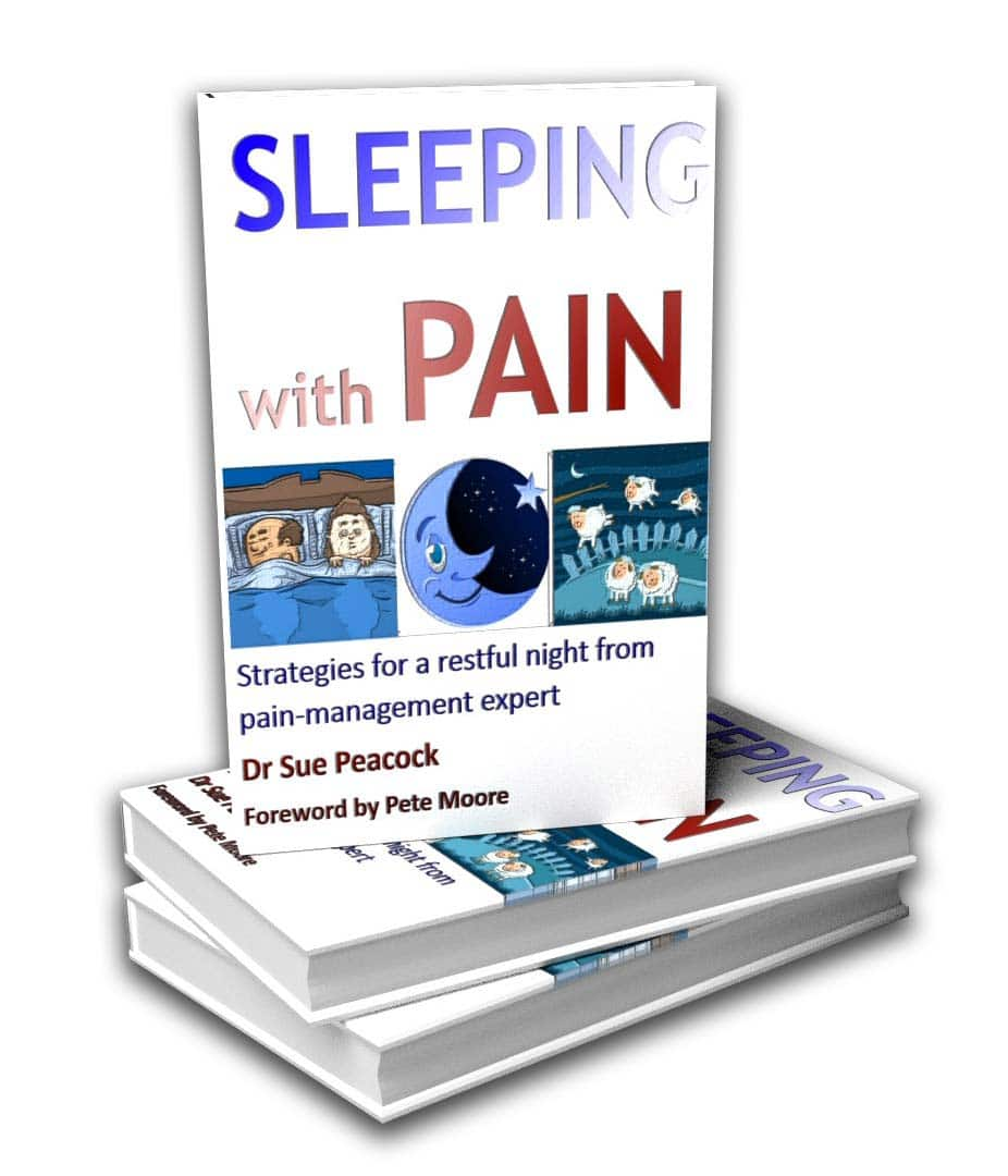 Sleeping with Pain Book by Dr Sue Peacock